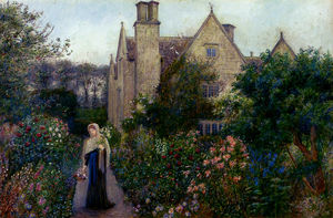 The Long Walk At Kelmscott Manor, Oxfordshire