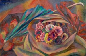 Bouquet e ombrellone