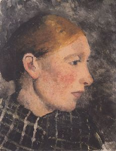 Head Of A Peasant Woman In Profile
