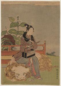Young Man As The Bodhisattva Monju