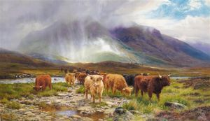 A Passing Shower, Glen Orchy