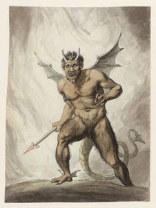 A Devil With A Spear