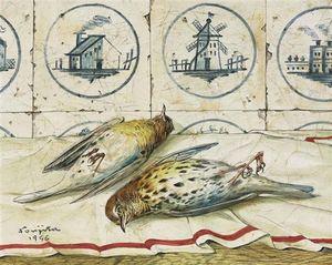 Nature Morte Aux Oiseaux