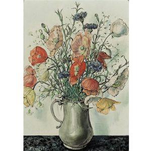 Vase De Coquelicots