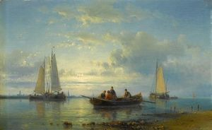 Fishing Boat At A Coast