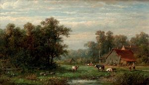 A Farm In Summer
