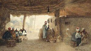 Arabs In An Interior