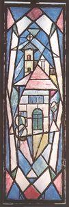 Triple Stained Glass Window I