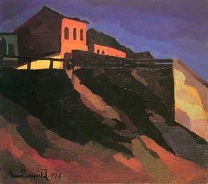 Landscape (view Of Horgony Street)