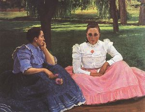 Sunday Conversation Of Girls At Somogytúr