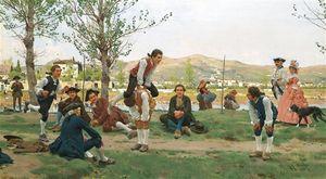 Saltarello Cavallucio (a Game Of Leapfrog)