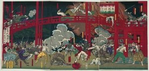 The Burning Of The Monju Hall