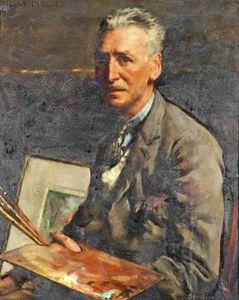 Portrait Of An Artist, William Pascoe