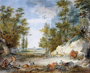Animals at Kleine Loo Sun