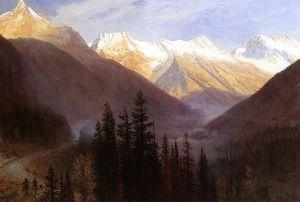 Восход солнца на ледник станции