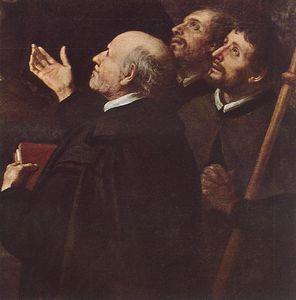 The Infant Jesus Distributing Bread to Pilgrims (detail - )