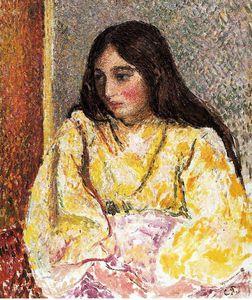 Portrait of Jeanne.