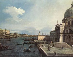 etto The Grand Canal at the Salute Church