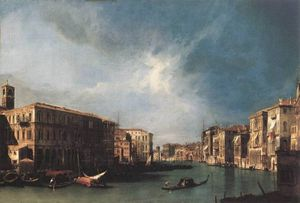 ETTO The Grand Canal From Rialto Toward The North