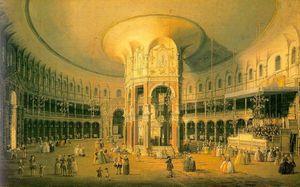 London- Ranelagh, the Interior of the Rotunda