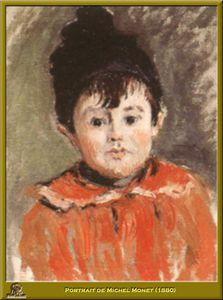 portrait de michel monet