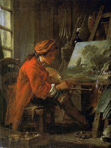 The Painter in His Studio