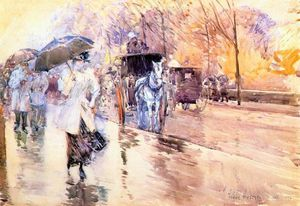 rainy day on fifth avenue