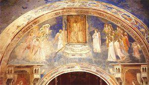 God Sends Gabriel to the Virgin