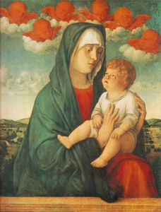 madonna of red angels