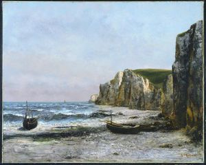 The cliffs at Etreat - -