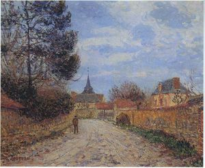 Church at Notre Dame by the Eure