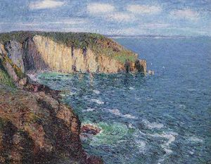 Cliffs at Cape Frehel
