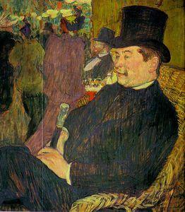 Portrait of Monsieur Delaporte at the Jardi