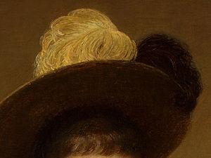 Portrait of Sonia (detail 4) -