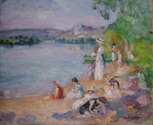 By the Lake shore