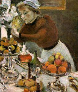 the dinner table (detail) -