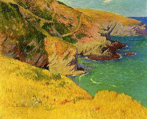 Belle _le en Mer Cliffs