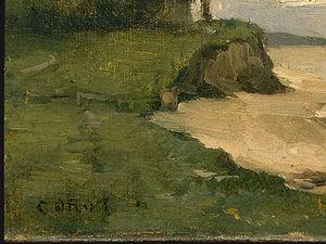 Beach near Etretat (detail 1) -