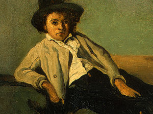 italian peasant boy (detail 1) -