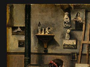 the artist's studio (detail 1) -