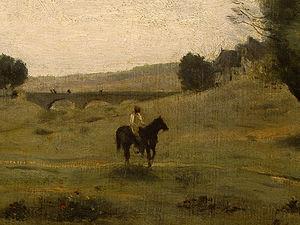 View near Epernon (detail - )