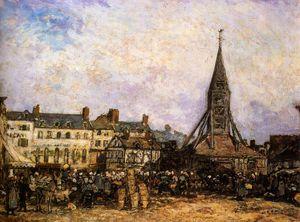 the market at sainte catherine honfleur