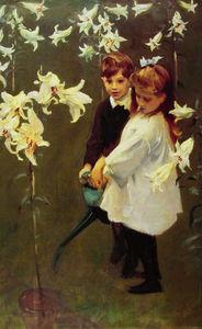 Garden. Study of the Vickers Children