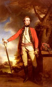 portrait of george townshend lord ferrers