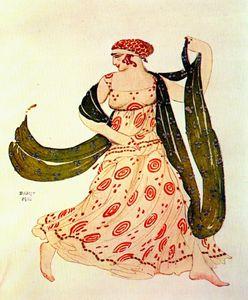 cleopatre greek dancer
