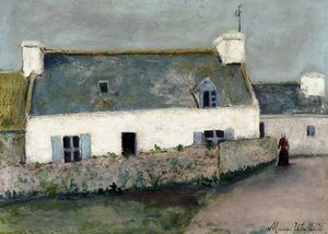 Farm on LIle d'Ouessant Finistere