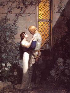 Tristram&Isolde; in the Garden