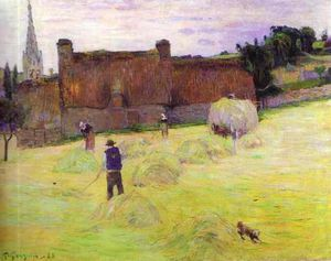 hay making in brittany