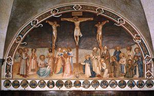 corridors - Crucifixion and Saints