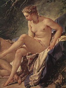 Diana Resting after her Bath (detail)